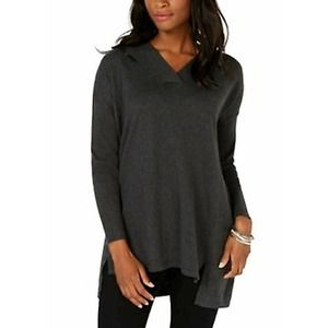 High-low Over-sized Tunic Top